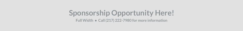 Sponsorship Opportunity Here