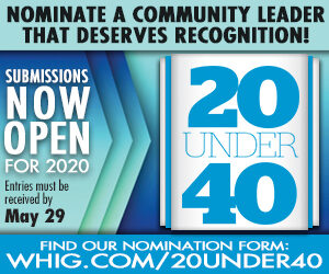 Nominations open for 20 Under 40