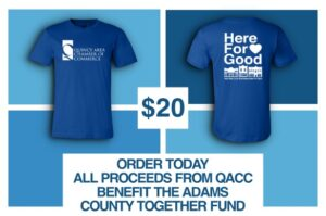 Chamber tee proceeds to go to ACT COVID-19 relief fund