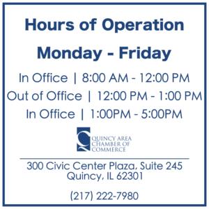 Chamber office open