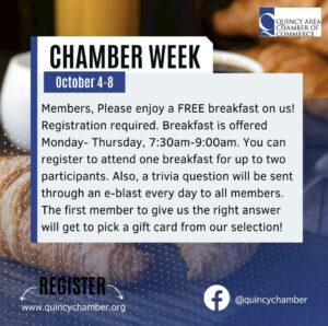 Chamber Week Membership Breakfast